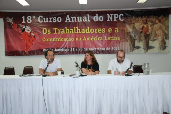 Renato Rovai, Katia Marko e Leandro Fortes