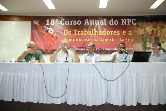Vito Giannotti, Pedrinho Guareschi, Cristian Goes, Reginaldo José e Kleber Mendonça
