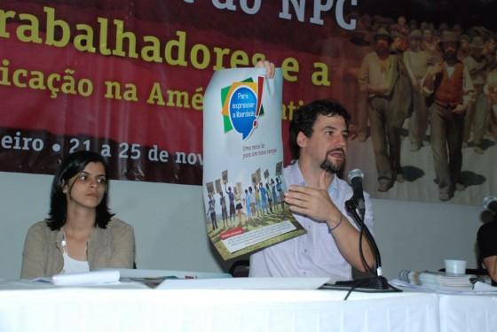 """João Brant divulga Campanha """"Para Expressar a Liberdade"""""""